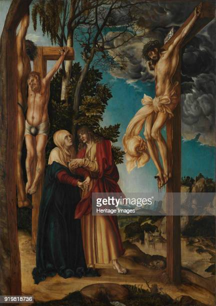 The Crucifixion 1503 Found in the collection of Alte Pinakothek Munich