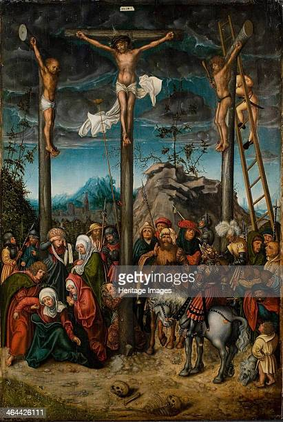 The Crucifixion 15061520 Found in the collection of the Statens Museum for Kunst Copenhagen