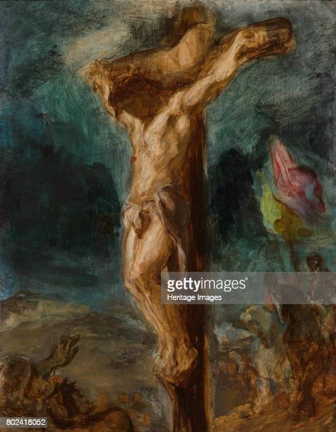 The Crucifixion 1848 Found in the collection of Museum Boijmans Van Beuningen Rotterdam