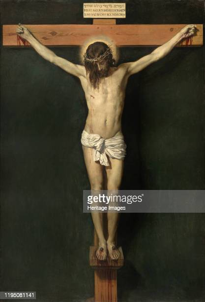The Crucifixion ca 16321633 Found in the Collection of Museo del Prado Madrid Artist Velàzquez Diego