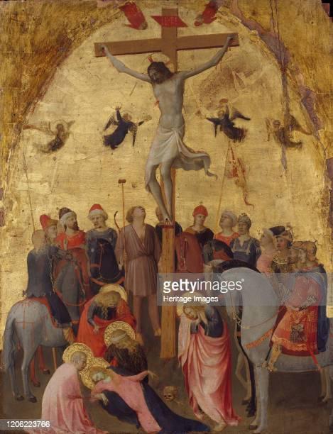 The Crucifixion, circa 1420-23. Artist Fra Angelico.