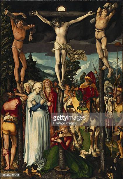 The Crucifixion of Christ 1512 Found in the collection of the Staatliche Museen Berlin