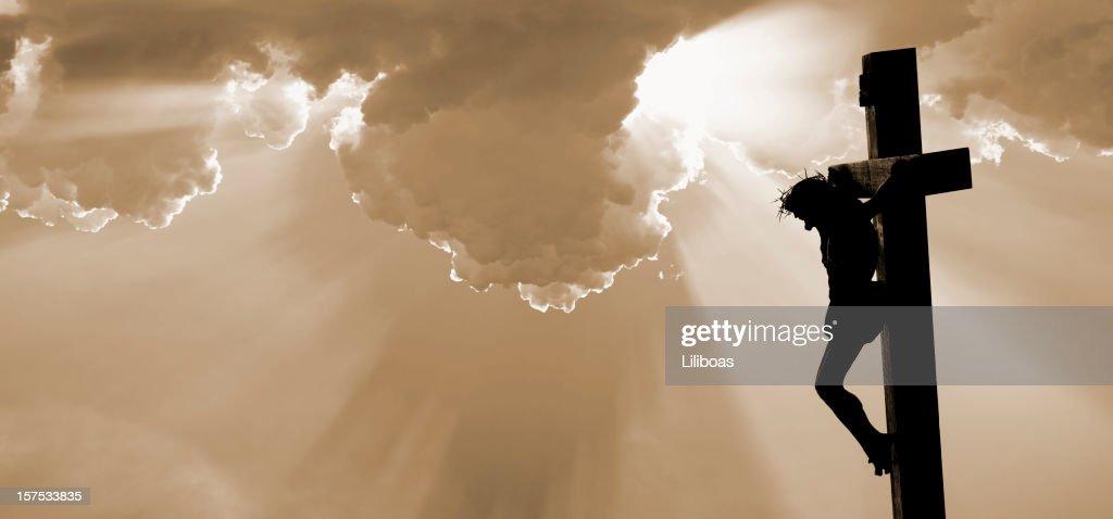 The Crucifixion of Jesus Christ : Stock Photo