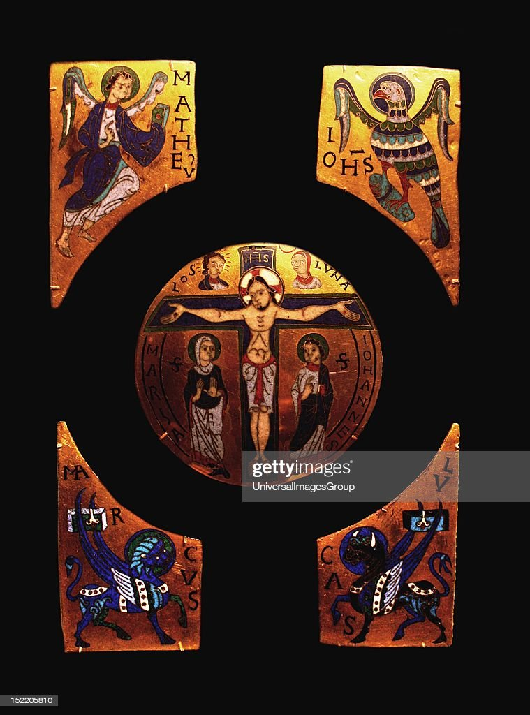 Champleve And Cloisonne Enamel On Gilded Copper Pictures Getty Images