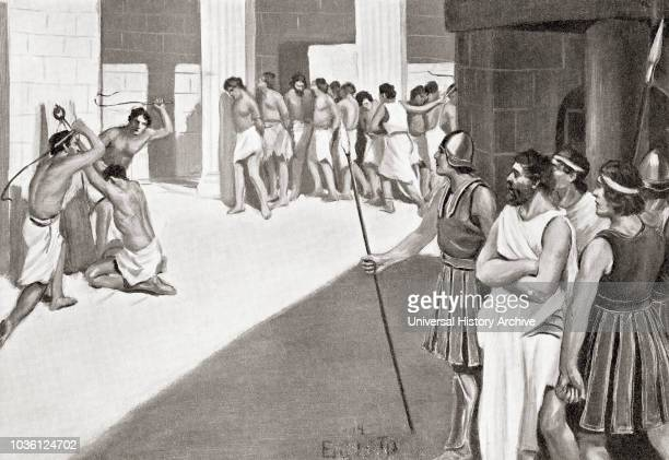 The cruel treatment of the Helots by the Spartans The Helots received a stipulated number of beatings every year regardless of any wrongdoing so that...