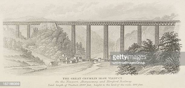 The Crumlin Viaduct was a railway viaduct located above the village of Crumlin in South Wales originally built to carry the Taff Vale Extension of...