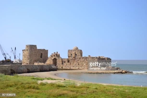 CONTENT] The crusader Sea Castle in Saida southern Lebanon