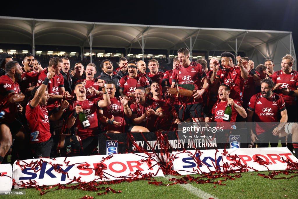 Super Rugby Aotearoa Final - Crusaders v Chiefs : News Photo