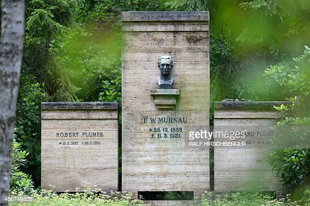 The crypt of the Murnau and Plumpe families is pictured July 15 2015 in Stahnsdorf Germany Grave robbers have stolen from a crypt the head of German...