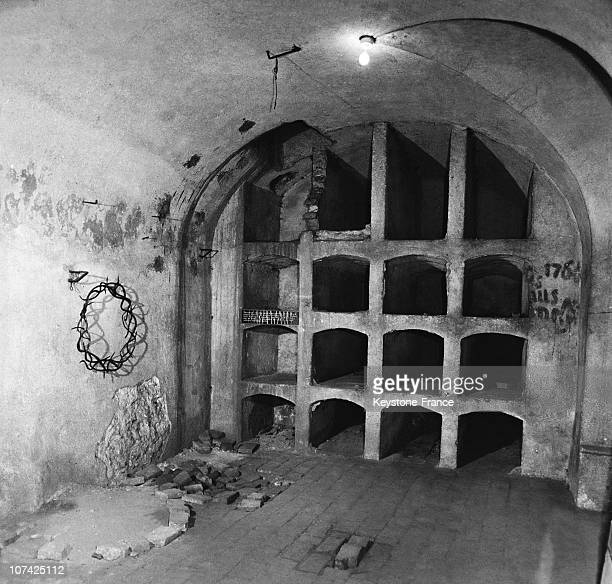 The Crypt Of The St Cyril And St Methodius Church At Prague In Germany, Czechoslovakia On 1942