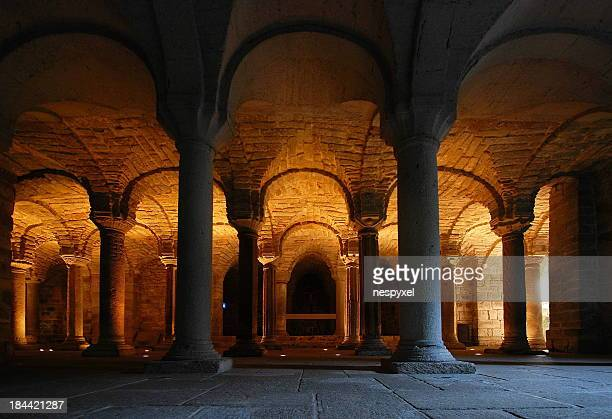 the crypt - gothic stock pictures, royalty-free photos & images