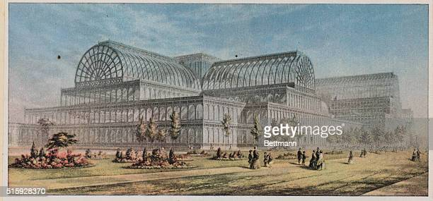 The Crystal Palace at Sydenham. The Handel Centenary Festival took place her in 1859.