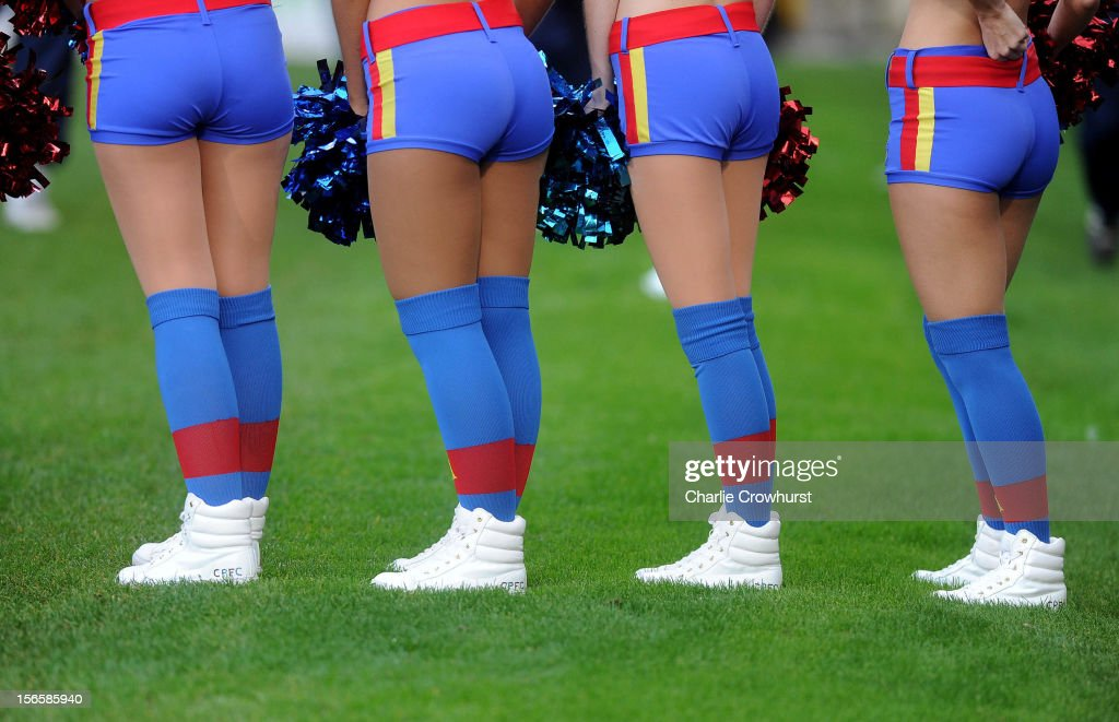 The Crystal Palace Cheerleaders during the npower Championship match between Crystal Palace and Derby County at Selhurst Park on November 17, 2012 in London, England.