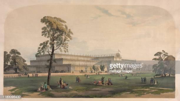 The Crystal Palace circa 1850 Creator Théophile Alexandre Steinlen