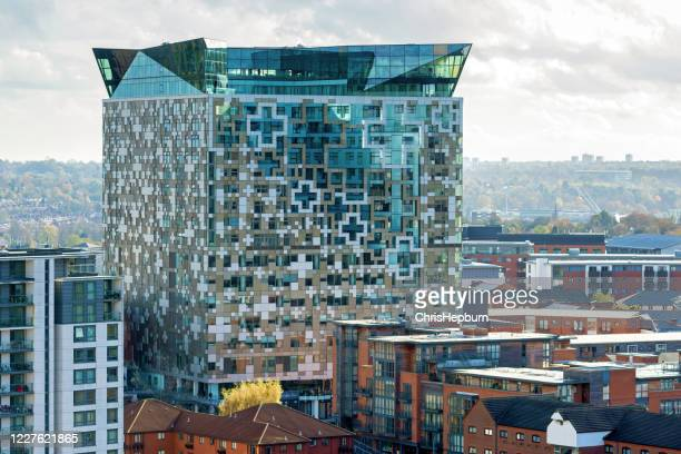 the cube, birmingham, england, uk - birmingham england stock pictures, royalty-free photos & images