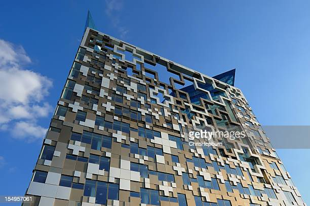 the cube, birmingham - birmingham england stock photos and pictures
