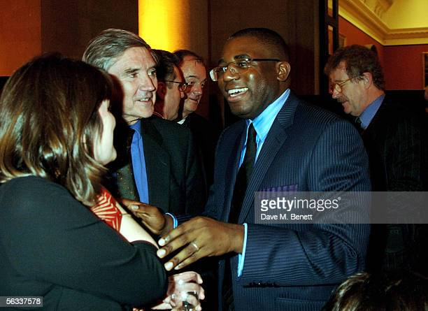 The Culture minister David Lammy attends the Turner Prize 2005 at Tate Britain on December 5 2005 in London England David Lammy hosts this year's...