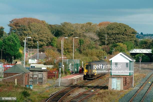 The Cumbrian Coast serves many centres which are less important now than when railways were first built including Maryport where a Class 156 unit...