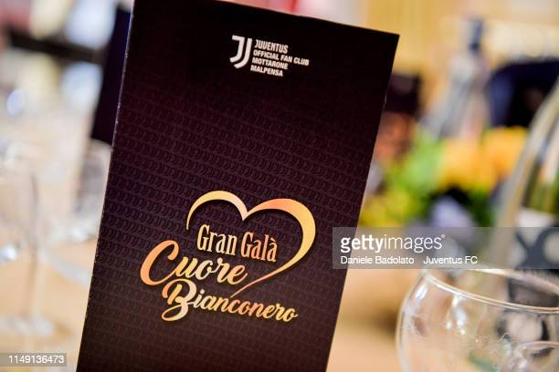 The Cuore Bianco Nero dinner for Candiolo Onlus on May 14, 2019 in Gravellona Toce, Italy.
