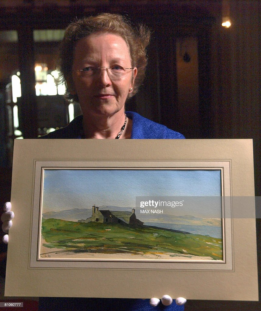 The curator of the Royal Collection Lady : News Photo