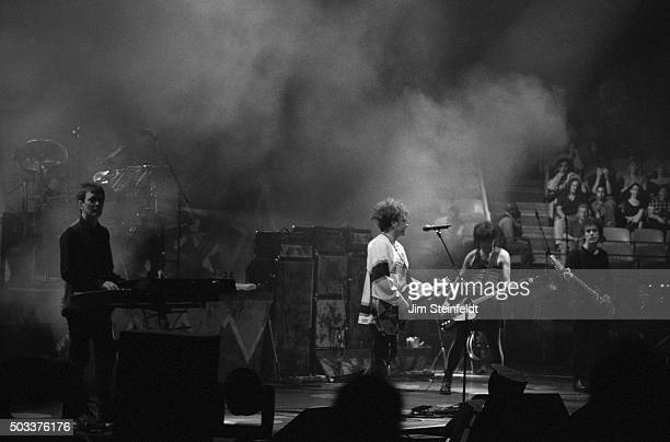 The Cure performs at The Forum in Los Angeles California on August 11 1996