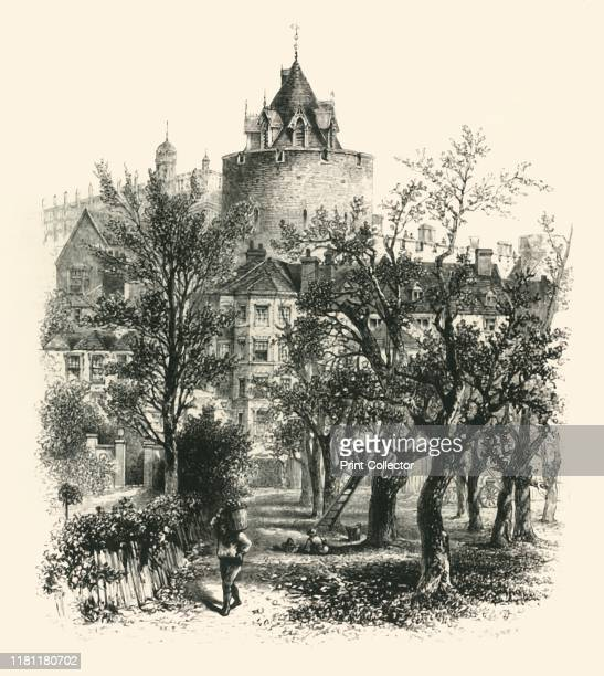 The Curfew Tower' circa 1870 Curfew Tower at Windsor castle dates from the 13th century The interior of the tower contains a former dungeon From...