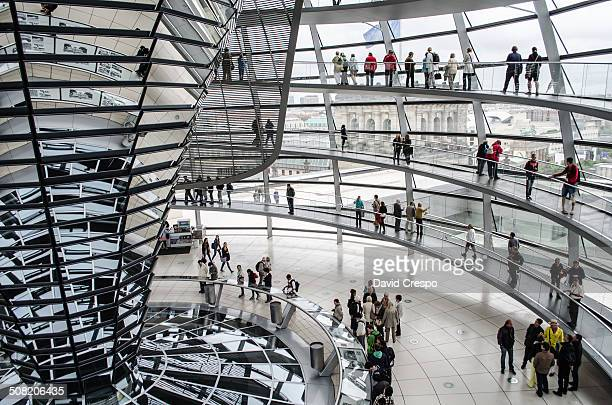 The current Reichstag dome is a glass dome, constructed on top of the rebuilt Reichstag building in Berlin. It was designed by architect Norman...