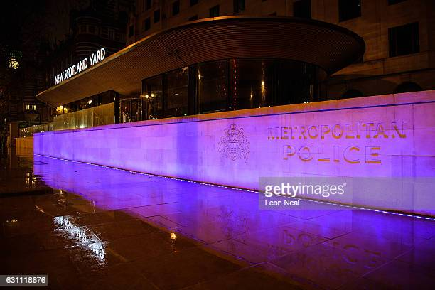 The Curtis Green building in Westminster which is the new home of the Metropolitan Police force is seen on January 6 2017 in London England This...