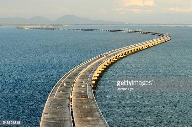 The curve of Penang second bridge