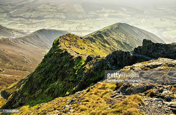 the curve, - blencathra stock photos and pictures