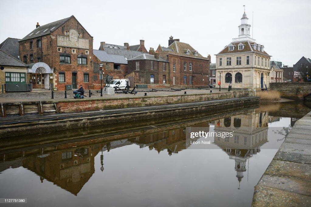 Focus On Kings Lynn - Once Hub Of European Trade Voted To Leave The EU : News Photo