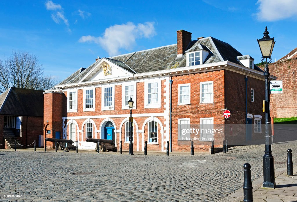 The Custom House On The Quay In Exeter Devon England Britain Uk News Photo Getty Images