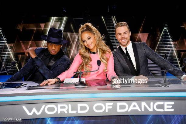 DANCE The Cuts Pictured NeYo Jennifer Lopez Derek Hough