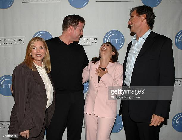 The CW Entertainment President Dawn Ostroff, ABC Entertainment President Stephen McPherson, CBS Entertainment President Nina Tassler and Fox...