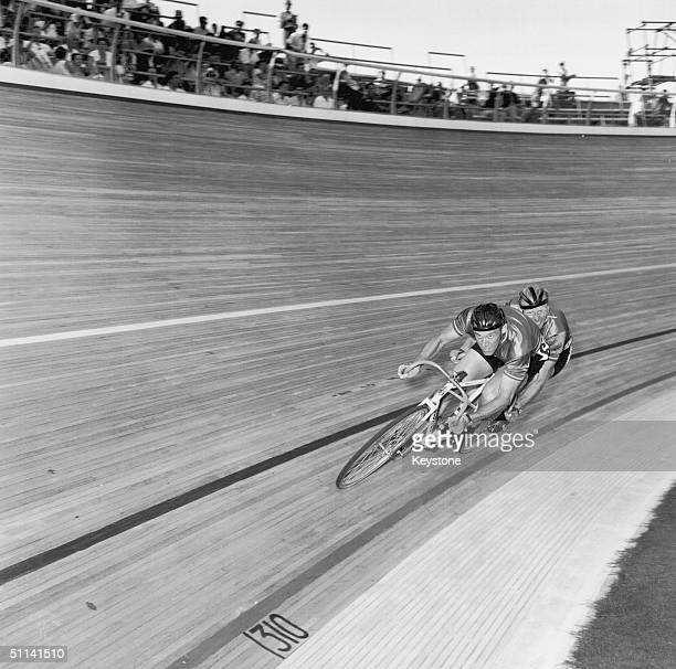 The cycling event at the 1960 Rome Olympics.