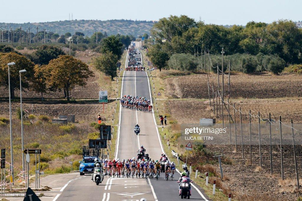 CYCLING-ITA-GIRO-2020-STAGE 7 : News Photo