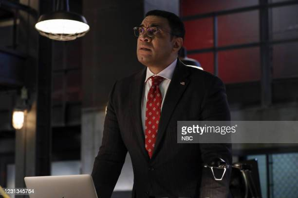 """The Cyranoid """" Episode 809 -- Pictured: Harry Lennix as Harold Cooper --"""