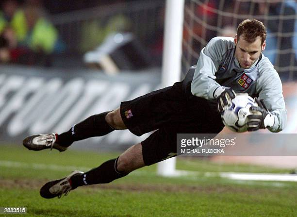 The Czech national team goalkeeper Petr Cech stops a ball during a Euro 2004 Group match against the Netherlands 29 March 2003 Chelsea have agreed to...
