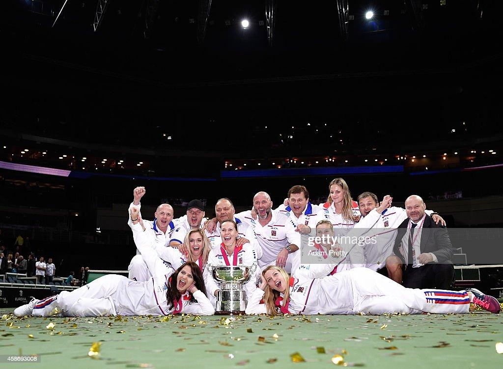 Czech Republic v Germany - Fed Cup Final Day 2 : News Photo