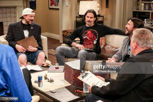 The D D Vortex Pictured Kevin Smith Joe Manganiello and Wil Wheaton When the gang finds out Wil Wheaton hosts a celebrity Dungeons and Dragons game...