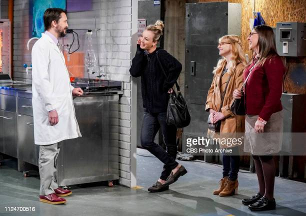'The D D Vortex' Pictured Wil Wheaton Penny Bernadette and Amy Farrah Fowler When the gang finds out Wil Wheaton hosts a celebrity Dungeons and...