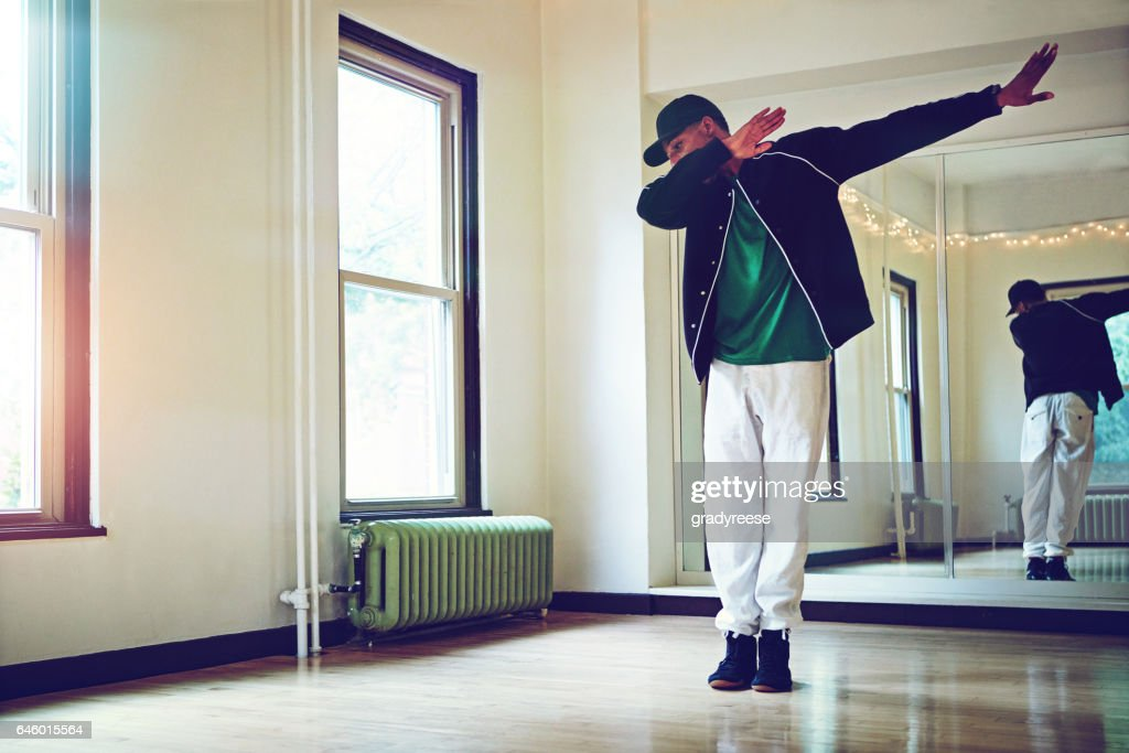 The dab is all about that swag : Stock Photo