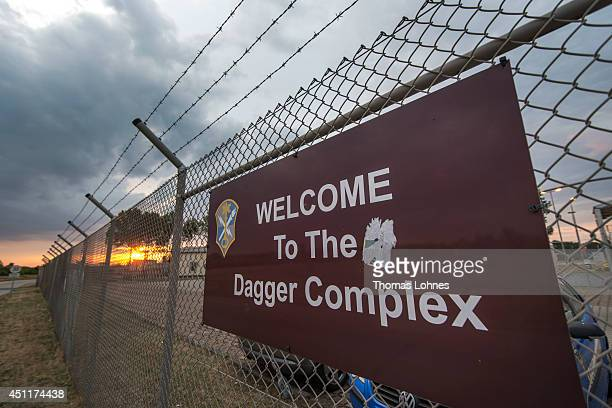 The Dagger Complex which according to media reports is a facility used by the United States' National Security Agency is pictured on June 24 2014 in...