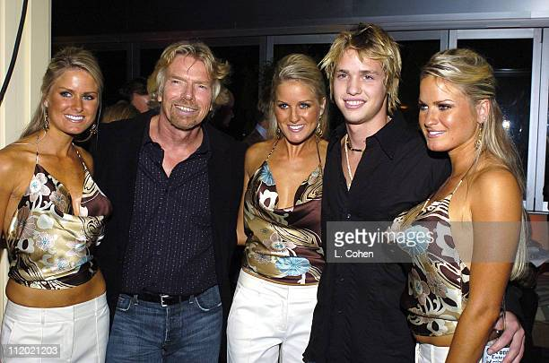The Dahm Triplets of Renovate My Family with Richard Branson of Rebel Billionaire The Quest for the Best and son Sam Branson