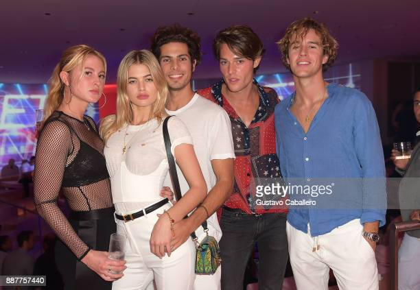 The Daily Front Row and Tinder After Dark celebrate at Faena Forum with Cesar Casier Louis and guests on December 6 2017 in Miami Beach Florida