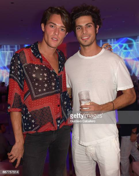 The Daily Front Row and Tinder After Dark celebrate at Faena Forum with Cesar Casier and Louis on December 6 2017 in Miami Beach Florida