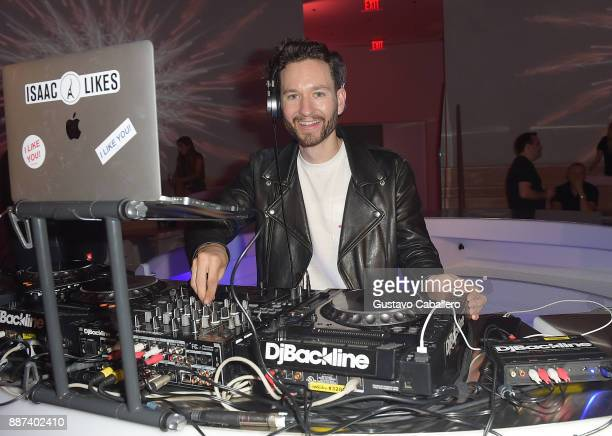 The Daily Front Row and Tinder After Dark celebrate with DJ Isaac Likes at Faena Forum on December 6 2017 in Miami Beach Florida