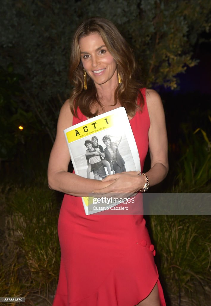 The Daily Front Row celebrates the Launch of Act1 with Cindy Crawford presented by LIFEWTR at Faena Hotel on December 6, 2017 in Miami Beach, Florida.