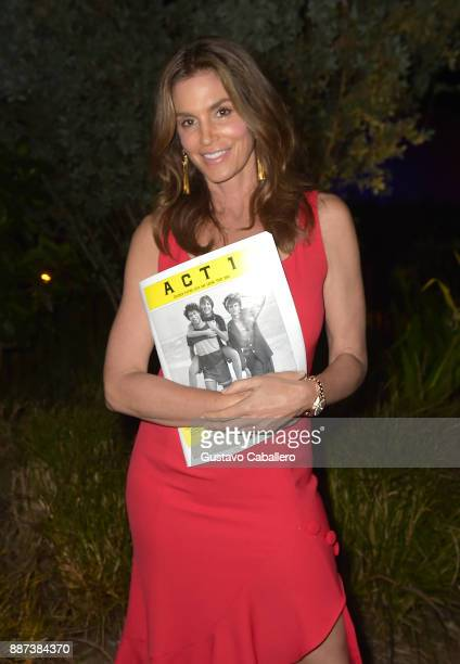 The Daily Front Row celebrates the Launch of Act1 with Cindy Crawford presented by LIFEWTR at Faena Hotel on December 6 2017 in Miami Beach Florida