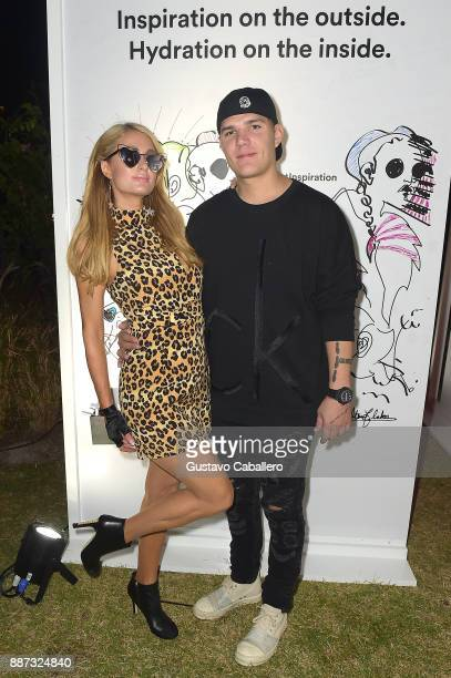 The Daily Front Row celebrates the Launch of Act1 with Paris Hilton and Chris Zylka presented by LIFEWTR at Faena Hotel on December 6 2017 in Miami...